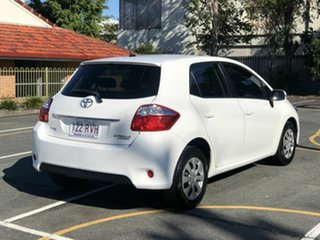 2011 Toyota Corolla ZRE152R MY11 Ascent White 4 Speed Automatic Hatchback.