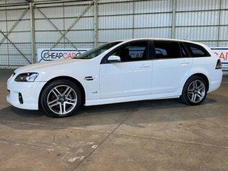 2010 Holden Commodore VE II SV6 Sportwagon White 6 Speed Sports Automatic Wagon.
