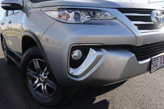 2017 Toyota Fortuner GUN156R GXL Silver 6 Speed Automatic Wagon.