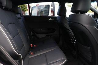 2021 Kia Sportage QL MY21 GT-Line AWD Black Cherry 8 Speed Sports Automatic Wagon