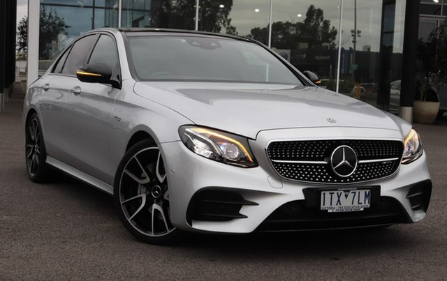 Used Mercedes-Benz E-Class W213 808MY E43 AMG 9G-Tronic PLUS 4MATIC Epsom, 2018 Mercedes-Benz E-Class W213 808MY E43 AMG 9G-Tronic PLUS 4MATIC 9 Speed Sports Automatic Sedan