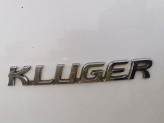 2005 Toyota Kluger MCU28R CV AWD Sport White 5 Speed Automatic Wagon