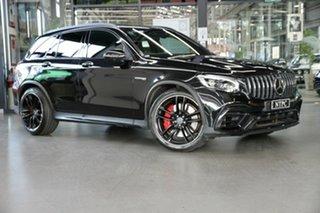 2018 Mercedes-Benz GLC-Class X253 809MY GLC63 AMG SPEEDSHIFT MCT 4MATIC+ S Black 9 Speed.