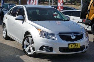 2014 Holden Cruze JH Series II MY14 Equipe Silver 6 Speed Sports Automatic Sedan.