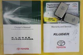 2013 Toyota Kluger GSU40R MY13 Upgrade Grande (FWD) Silver 5 Speed Automatic Wagon