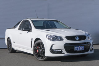 2017 Holden Ute VF II MY17 SS V Ute Redline White 6 Speed Sports Automatic Utility.