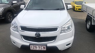 2014 Holden Colorado RG MY14 LX 4x2 White 6 Speed Sports Automatic Cab Chassis.