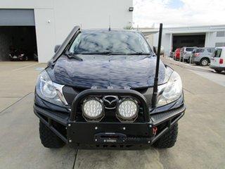 2016 Mazda BT-50 UR0YG1 XT Dark Blue 6 Speed Manual Cab Chassis.