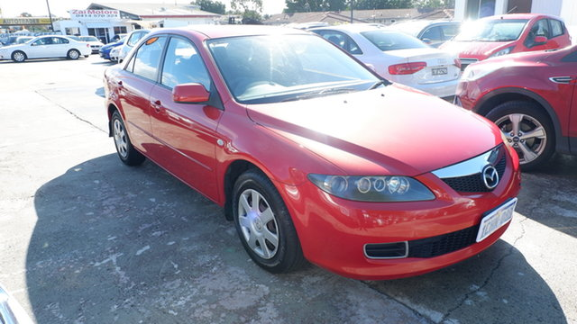 Used Mazda 6 GG1032 Limited St James, 2006 Mazda 6 GG1032 Limited Red 6 Speed Manual Sedan