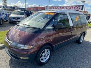 1992 Toyota Tarago Maroon Auto Active Select Wagon.