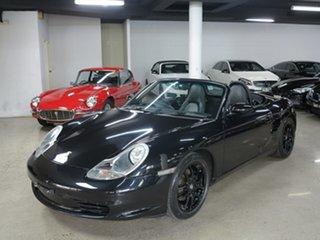 2003 Porsche Boxster 986 MY03 Black 5 Speed Manual Convertible.
