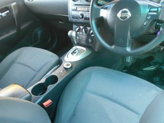 2009 Nissan Dualis J10 MY2009 ST Hatch X-tronic Black 6 Speed Constant Variable Hatchback