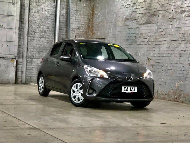 Used Toyota Yaris NCP131R SX Mile End South, 2017 Toyota Yaris NCP131R SX Grey 4 Speed Automatic Hatchback