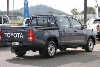 2009 Toyota Hilux TGN16R MY09 Workmate 4x2 Grey 5 Speed Manual Utility.