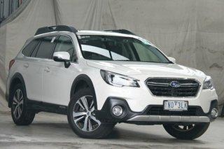 2018 Subaru Outback MY18 2.5I Premium AWD White Continuous Variable Wagon.