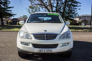 2008 Ssangyong Kyron D100 Euro IV M200 XDi White 5 Speed Sports Automatic Wagon