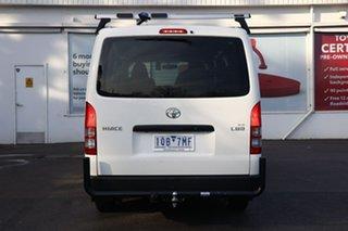 2018 Toyota HiAce KDH201R LWB French Vanilla 4 Speed Automatic Van