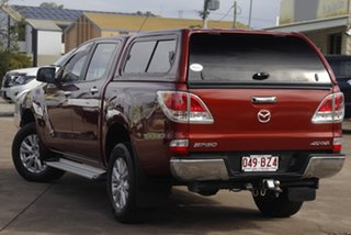 2012 Mazda BT-50 UP0YF1 XTR Copper Red 6 Speed Sports Automatic Utility.