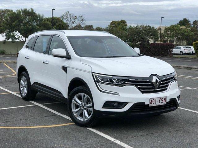 Used Renault Koleos HZG Life X-tronic Chermside, 2018 Renault Koleos HZG Life X-tronic White 1 Speed Constant Variable Wagon