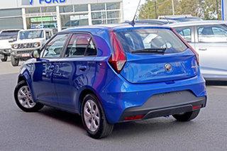 2021 MG MG3 SZP1 MY21 Core Blue 4 Speed Automatic Hatchback.