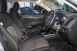 2015 Mitsubishi ASX XB MY15.5 LS 2WD Cool Silver 6 Speed Constant Variable Wagon