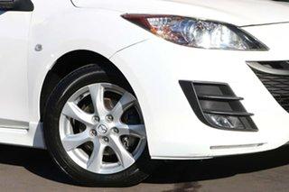 2009 Mazda 3 BK10F2 MY08 Maxx Sport White 4 Speed Sports Automatic Sedan.