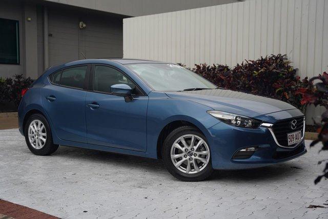 Used Mazda 3 BN5478 Maxx SKYACTIV-Drive Cairns, 2016 Mazda 3 BN5478 Maxx SKYACTIV-Drive Blue 6 Speed Sports Automatic Hatchback
