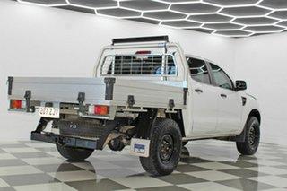 2013 Ford Ranger PX XL 2.2 Hi-Rider (4x2) White 6 Speed Manual Crew Cab Pickup