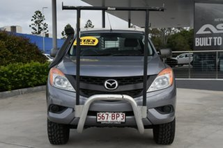 2014 Mazda BT-50 UP0YF1 XT Freestyle Grey 6 Speed Manual Cab Chassis