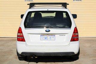 2005 Subaru Forester 79V MY06 XS AWD White 5 Speed Manual Wagon