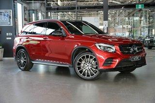 2018 Mercedes-Benz GLC-Class X253 809MY GLC250 9G-Tronic 4MATIC Red 9 Speed Sports Automatic Wagon.