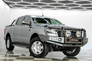 2016 Ford Ranger PX MkII XLT 3.2 (4x4) Grey 6 Speed Automatic Double Cab Pick Up.