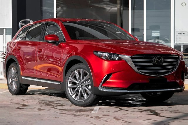 New Mazda CX-9 TC GT SKYACTIV-Drive Waitara, 2021 Mazda CX-9 TC GT SKYACTIV-Drive Red 6 Speed Sports Automatic Wagon