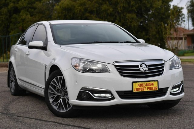 Used Holden Calais VF II MY17 Enfield, 2017 Holden Calais VF II MY17 White 6 Speed Sports Automatic Sedan