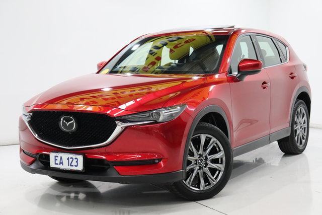 Used Mazda CX-5 MY19 (KF Series 2) Akera (4x4) Brooklyn, 2019 Mazda CX-5 MY19 (KF Series 2) Akera (4x4) Red 6 Speed Automatic Wagon