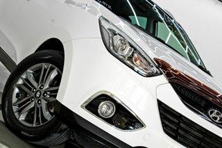 2014 Hyundai ix35 LM Series II SE (FWD) White 6 Speed Automatic Wagon.
