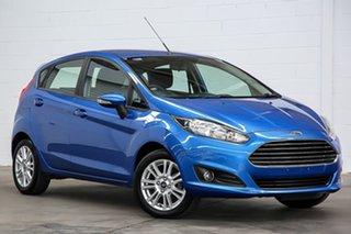 2015 Ford Fiesta WZ MY15 Trend PwrShift Blue 6 Speed Sports Automatic Dual Clutch Hatchback.