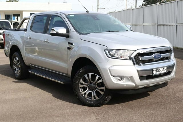 Used Ford Ranger PX MkII XLT Double Cab North Gosford, 2017 Ford Ranger PX MkII XLT Double Cab Silver 6 Speed Sports Automatic Utility