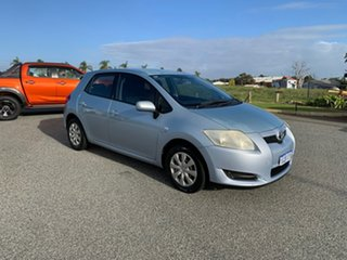 2008 Toyota Corolla ZRE152R Ascent Blue 6 Speed Manual Hatchback.