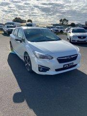 2017 Subaru Impreza G5 MY17 2.0i-S CVT AWD White 7 Speed Constant Variable Hatchback.