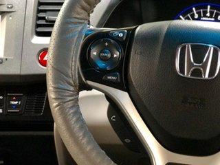 2013 Honda Civic 9th Gen Hybrid Burgundy 1 Speed Constant Variable Sedan Hybrid