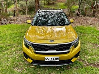 2020 Kia Seltos SP2 MY21 Sport+ DCT AWD Starbright Yellow/bl 7 Speed Sports Automatic Dual Clutch.