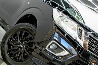 2015 Nissan Navara NP300 D23 RX (4x4) Black 7 Speed Automatic Double Cab Utility.