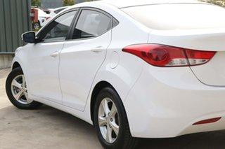 2012 Hyundai Elantra MD2 Active White 6 Speed Manual Sedan