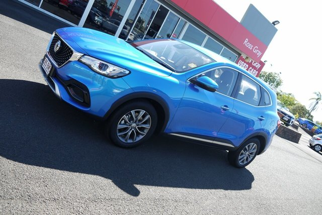 Demo MG HS SAS23 MY21 Core DCT FWD Bundaberg, 2021 MG HS SAS23 MY21 Core DCT FWD Blue 7 Speed Sports Automatic Dual Clutch Wagon