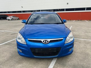 2009 Hyundai i30 FD MY09 CW Sportswagon 2.0 Blue 4 Speed Automatic Wagon