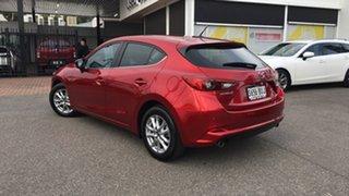 2018 Mazda 3 BN5476 Maxx SKYACTIV-MT Sport Red 6 Speed Manual Hatchback.