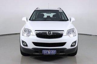 2012 Holden Captiva CG Series II 5 (4x4) White 6 Speed Automatic Wagon.