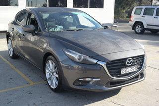 2018 Mazda 3 BN5238 SP25 SKYACTIV-Drive GT Grey 6 Speed Sports Automatic Sedan.