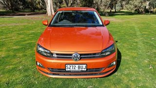 2017 Volkswagen Polo AW MY18 Launch Edition DSG Orange 7 Speed Sports Automatic Dual Clutch.